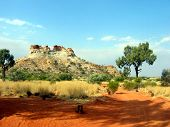 Outback Ancient Rock