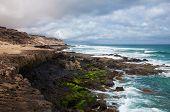 Costa oeste erosionada de Fuerteventura