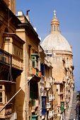 Street In Valletta, Malta