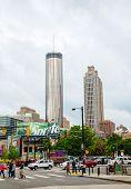 Downtown Atlanta On An Overcast Day