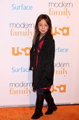 LOS ANGELES - OCT 28:  Aubrey Anderson-Emmons at the Modern Family on USA Network Fan Appreciation E