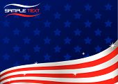 picture of american flags  - An American flag stile background - JPG