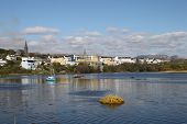 stock photo of galway  - A view of Clifden - JPG