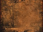 Melancholy Autumnal Background