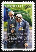 Postage Stamp Australia 2008 Veterans, Anzac