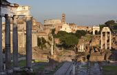 Forum Overview Center Road Rome Italy