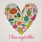 image of artichoke hearts  - I love vegetables - JPG