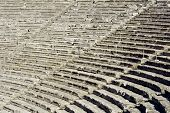 Epidaurus, Ancient Theater In Greece