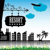 Resort plate