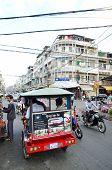 Traffic In Pnom Penh, Cambodia
