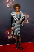 NEW YORK- OCT 20: Actress Adriane Lenox attends the Broadway opening night of 'A Time To Kill' at Th
