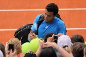 Jo-wilfried Tsonga At Roland Garros 2009