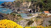 landscape coast portugal , rota vicentina.