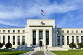 stock photo of treasury  - Federal Reserve Building in Washington DC - JPG