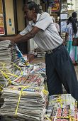 Newspaper Stand In Kandy