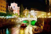 Ljubljana At Night