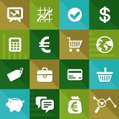 Vector Finance And Business Icons