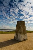 Hengistbury Trig Point