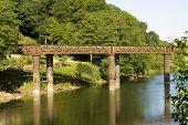Old Railway Bridge, Redbrook.