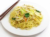 picture of lo mein  - Asian food photo of chinese stir - JPG