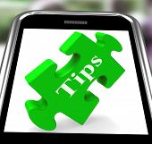 Tips Smartphone Shows Online Suggestions And Pointers