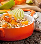 picture of lenten  - Oatmeal with pumpkin - JPG
