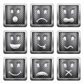Metal Grid Icons