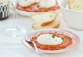 poached Egg With Tomato Sause