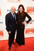 NEW YORK-APR 9: Tom Colicchio and Lori Silverbush attend the Food Bank for New York City's Can Do Awards Dinner Gala at Cipriani Wall Street on April 9, 2014 in New York City.