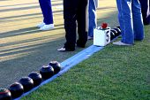 Barefoot Lawn Bowls