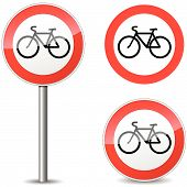 Vector Bicycle Sign