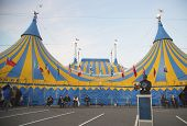 Cirque du Soleil circus tent at Citi Field in New York