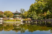 stock photo of seoul south korea  - Korean temple Emperors island in Gyeongbokgung palace - JPG