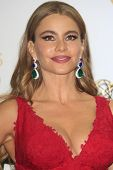 LOS ANGELES - SEP 22: Sofia Vergara in the press room during the 65th Annual Primetime Emmy Awards h
