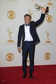 LOS ANGELES - SEP 22: Mark Burnett in the press room during the 65th Annual Primetime Emmy Awards he