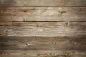 rustic weathered wood background with grain and knots