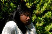African - American Woman deprimido