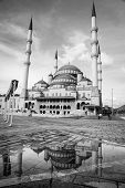 Kocatepe Mosque after rain - Ankara, Turkey