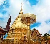 Wat Phrathat Doi Suthep Temple In Chiang Mai