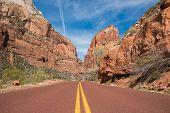 Zion Utah Road