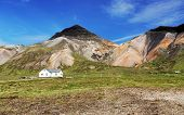 stock photo of iceland farm  - Farm in Iceland  - JPG