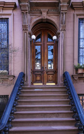 foto of entryway  - Views of classic brownstones - JPG