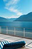 picture of penthouse  - terrace of a penthouse on the lake - JPG