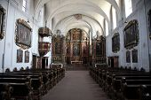 SCHONAU, GERMANY - JULY 18: Schonau Abbey. Schonau Abbey is a monastery of Friars Minor in the villa