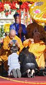 buddhist monk blessing