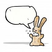 picture of belching  - belching rabbit cartoon - JPG