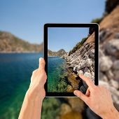 a tablet ps like on the sea backgrounds