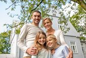 stock photo of nice house  - family - JPG