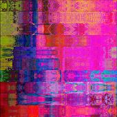 art abstract geometric horizontal stripes pattern background in pink, violet and blue colors