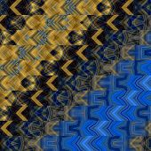 art abstract geometric horizontal stripes pattern background in brown and blue colors